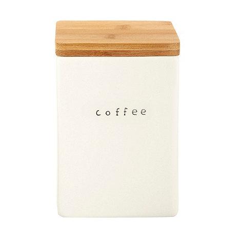 Debenhams - Ceramic coffee jar