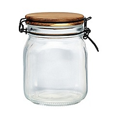 Creative Tops - Glass 'Stockholm' clip top storage jar