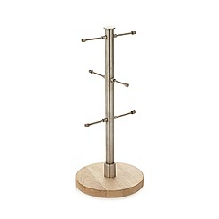 Home Collection Basics - Silver wood mug tree