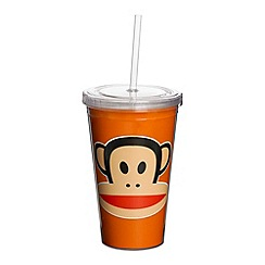 Paul Frank - Orange cup with straw