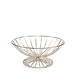 Home Collection - Designer metal wire fruit bowl