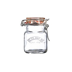 Kilner - Sqaure clip top spice jar 70ml