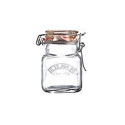 Kilner - Sqaure clip top spice jar 70ml