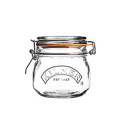 Kilner - Round clip top jar 0.5ml