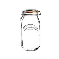 Kilner - Round clip top jar 2ltr