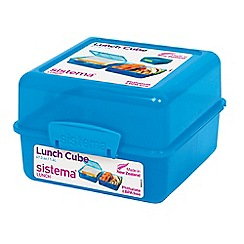 Sistema - Lunch cube lunch box assorted colours