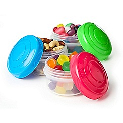 Sistema - 'Mini Bites To Go' pots 3 pack