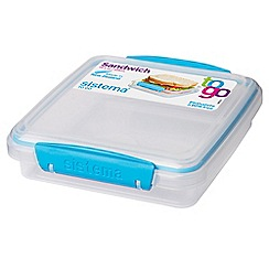 Sistema - Sandwich box to go 450ml