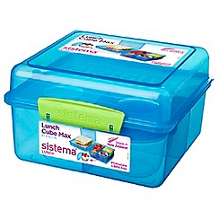 Sistema - 'Lunch Cube Max To Go' with yoghurt pot 2L
