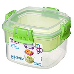 Sistema - 'Snacks To Go' lunch box 400ml