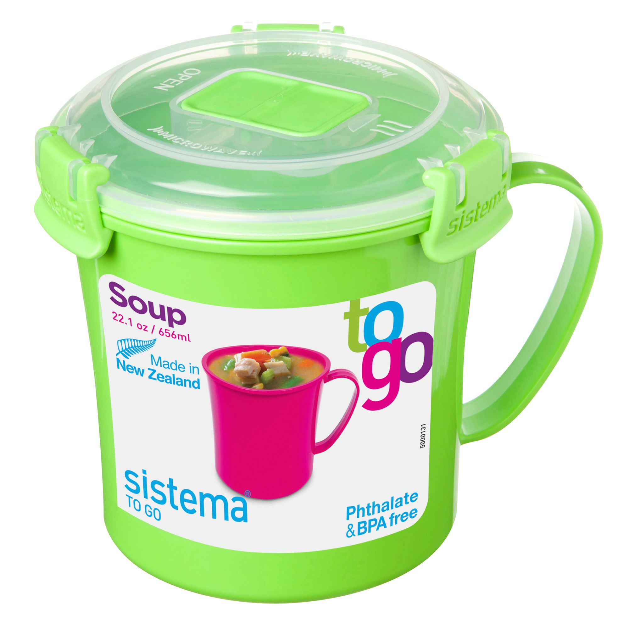 sistema kids 39 soup to go 39 lunch box 656ml from debenhams ebay. Black Bedroom Furniture Sets. Home Design Ideas