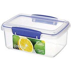 Sistema - 'KLIP IT' food storage box 1L