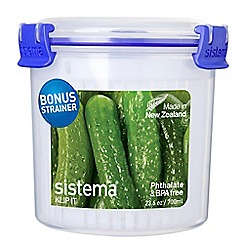 Sistema - Round food storage box 700ml