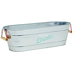 Jamie Oliver - Steel 'Ice-Cold' drinks tub