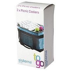 Sistema - 2 picnic coolers