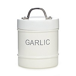 J by Jasper Conran - White garlic jar