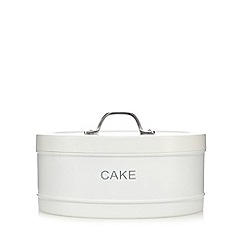 J by Jasper Conran - White cake tin