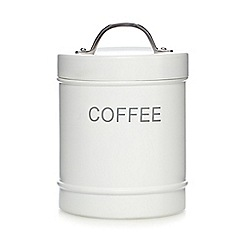 J by Jasper Conran - White coffee jar
