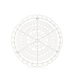At home with Ashley Thomas - Cream wire trivet