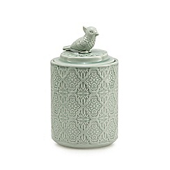Butterfly Home by Matthew Williamson - Pale green parrot jar