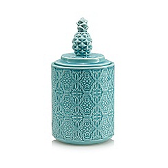Butterfly Home by Matthew Williamson - Blue pineapple jar