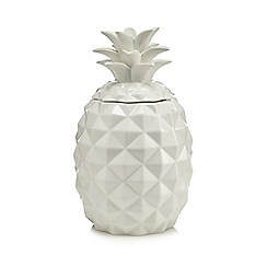 Butterfly Home by Matthew Williamson - White pineapple cookie jar
