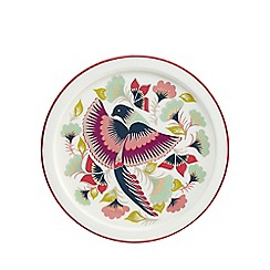 Butterfly Home by Matthew Williamson - Multi-coloured bird print tray