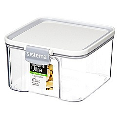 Sistema - Ultra clear tritan square 460ml container