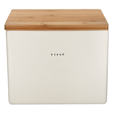 Debenhams - Ceramic rectangular bread bin