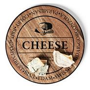 Wooden round 40cm cheese board