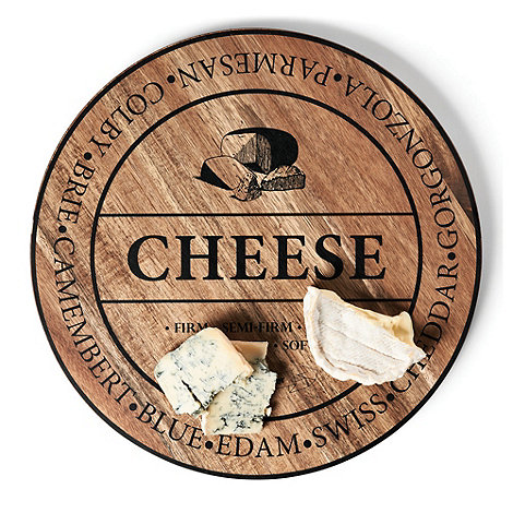 Salt & Pepper - Wooden round 40cm cheese board