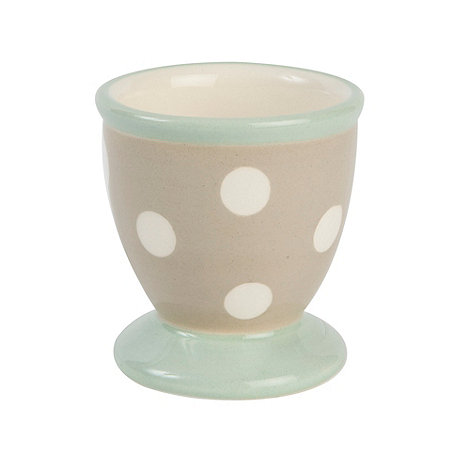 T&G Woodware - Cream & Country Cream Spot Egg Cup