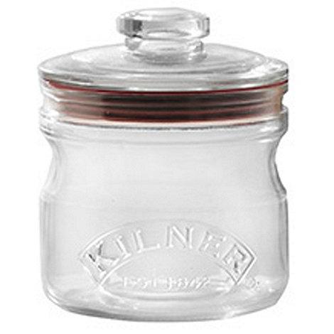 Rayware - Glass 0.65 litre push top jar
