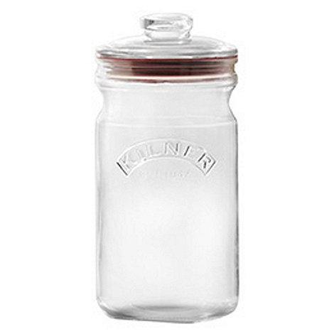 Rayware - Glass 1.5 litre push top jar
