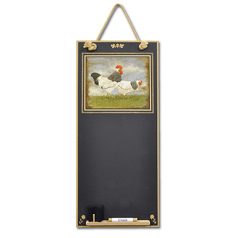 Booth Design - Black +Hens Eggs+ memo board