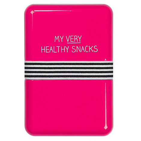 Wild & Wolf - Pink +Healthy Snacks+ lunchbox