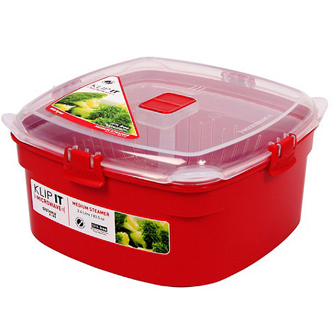 Sistema - Red medium microwave steamer
