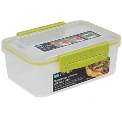 Clic Tite Clic-Tite green 1.1l double-decker container - . -