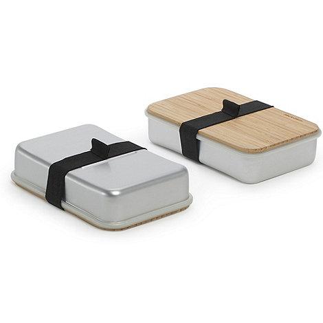 Black & Blum - Black + Blum silver sandwich box