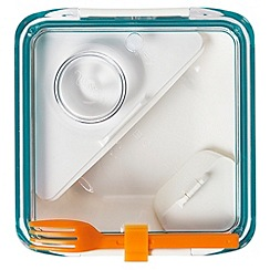 Black & Blum - Black + Blum 'Box Appetit' aqua and orange lunch box