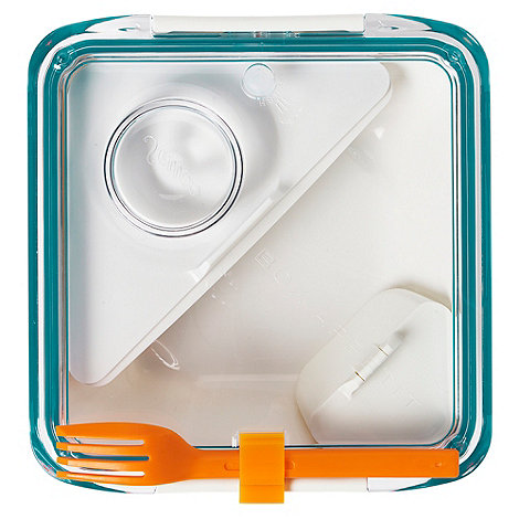 Black & Blum - Black + Blum +Box Appetit+ aqua and orange lunch box