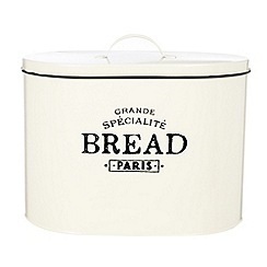 Debenhams - Large cream 'Bistro' bread tin