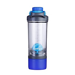 Contigo - Blue Shake & Go Fit shaker water bottle