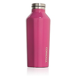 Corkcicle - Pink small stainless steel insulated canteen flask