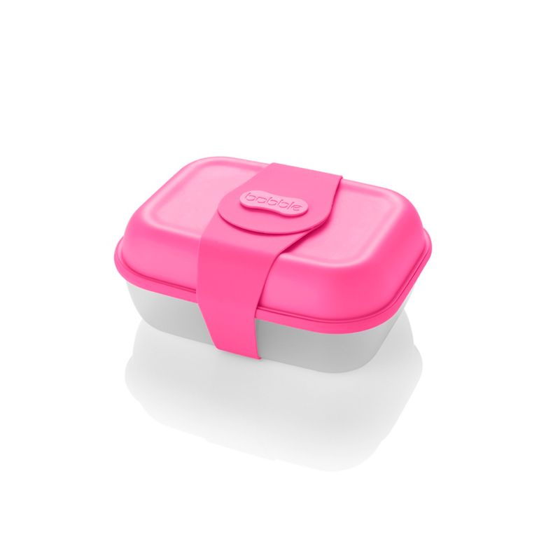 Bobble - Neon Pink Large Lunchbox