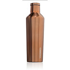 Corkcicle - Gold medium stainless steel insulated canteen flask