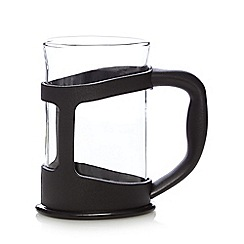 Home Collection Basics - Black plastic mug