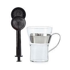 Bodum - Black assam mug and tea infuser