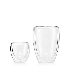 Bodum - Set of four double wall glasses
