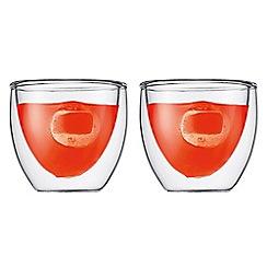 Bodum - PAVINA pair double walled espresso cup